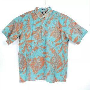 Reyn Spooner XL Mens Shirt Palm Trees Classic Fit